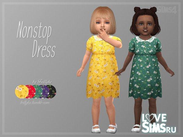 Детское платье Nonstop от Trillyke