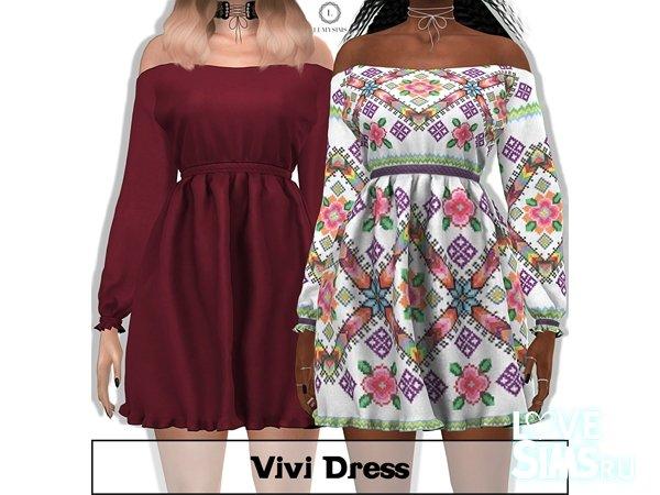 Платье Viva от lumysims