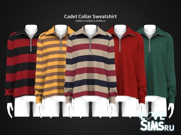 Толстовка Cadet Collar Sweatshirt