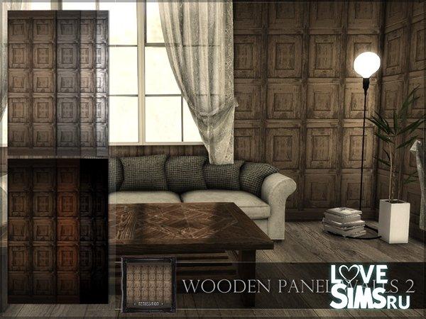 Покрытие Wooden Panel Walls 02