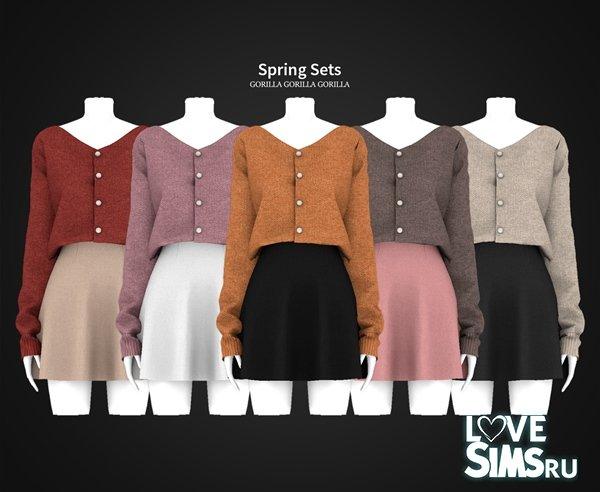 Кофта и юбка Spring Sets