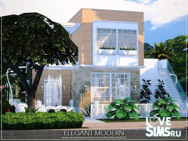 Дом Elegant Modern от MychQQQ