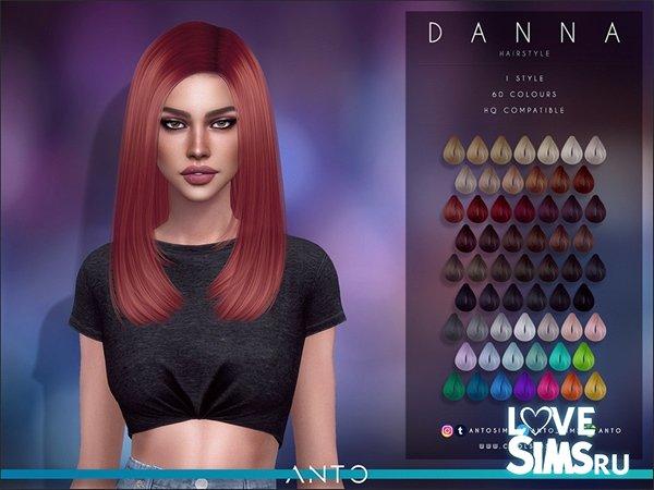 Прическа Danna от Anto