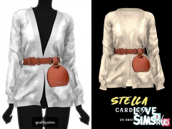 Кардиган Stella от Grafity-cc