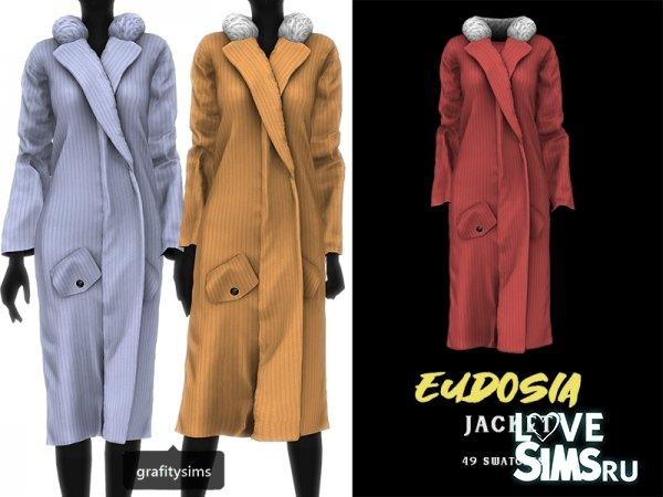 Пальто Eudosia jacket от Grafity-cc