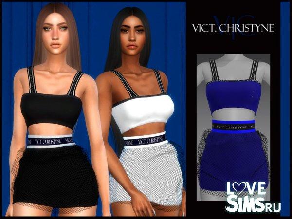 Наряд CHRISTYNE от Viy Sims