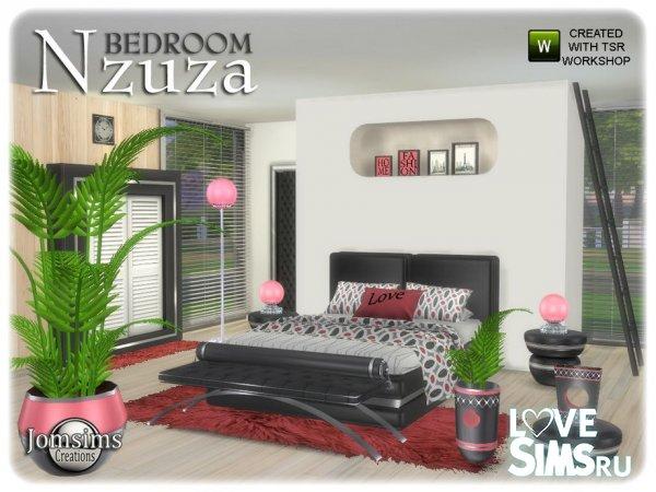 Спальня Nzuza от Jomsims