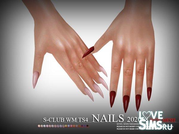 Ногти Nails 202008 от S-Club
