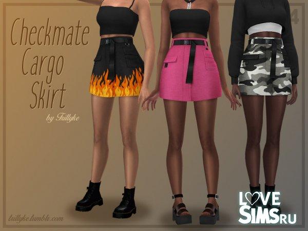 Юбка Checkmate Cargo Skirt