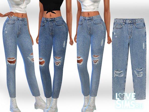 Джинсы Mom Jeans от Saliwa