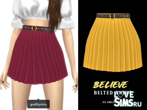 Юбка Believe Belted Skirt