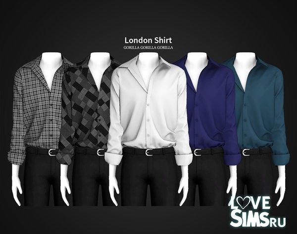 Мужская рубашка London от Gorilla X3