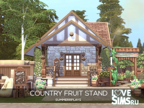 Киоск Country Fruit Stand