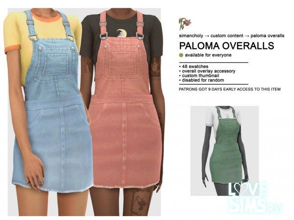 Сарафан Paloma overalls от Simancholy