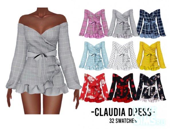 Платье Claudia от Kenzarsims
