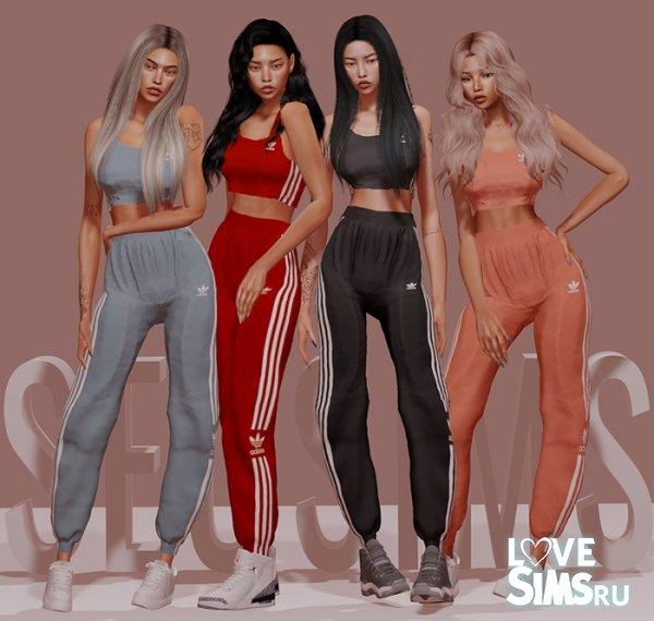 Костюм Adidas от Seosims