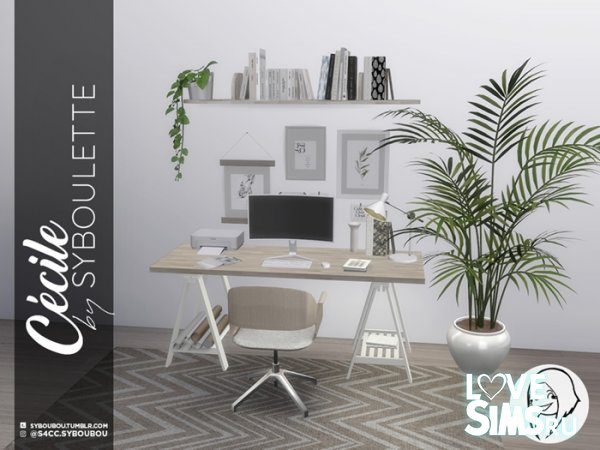 Мебель Cecile Office Set
