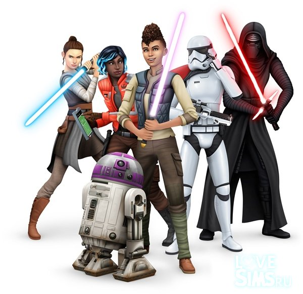 Коды для The Sims 4 Star Wars