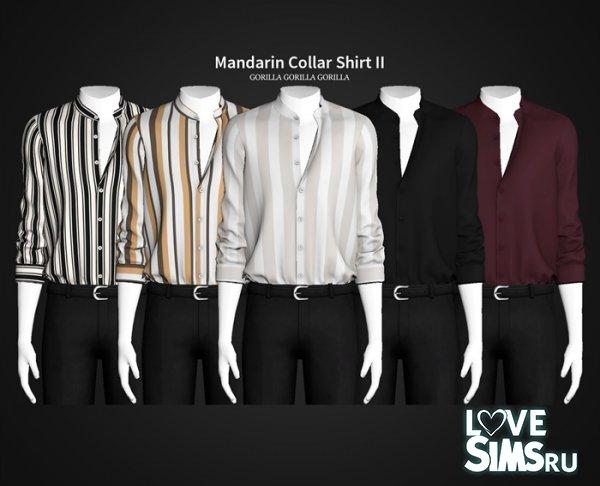 Рубашка Mandarin Collar Shirt II