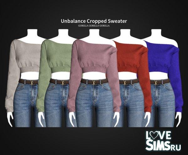 Свитер Unbalance Cropped Sweater