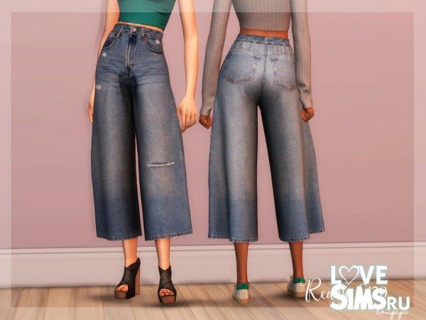 Кюлоты Culotte Jeans от Laupipi