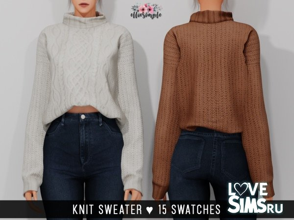 Свитер Knit Sweater от Elliesimple