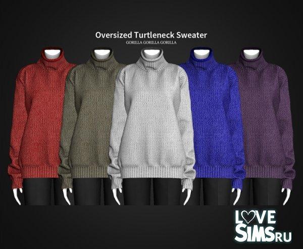 Свитер Oversized Turtleneck Sweater