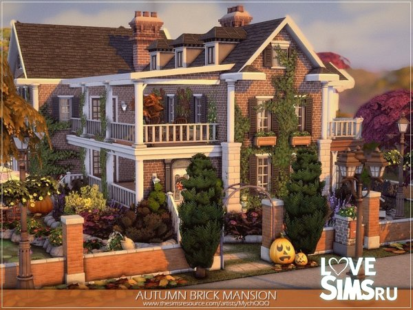 Особняк Autumn Brick Mansion