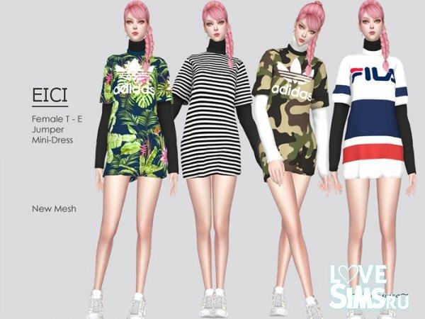 Платье EICI - T-Shirt Jumper Dress