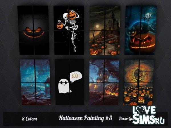 Картины Halloween от SimsJohnSims