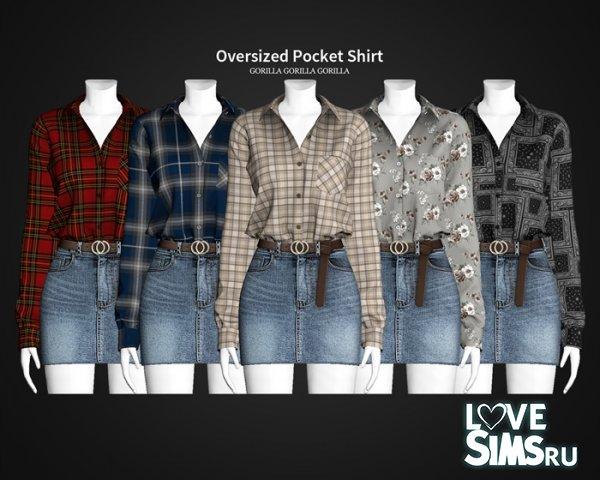 Рубашка Oversized Pocket Shirt
