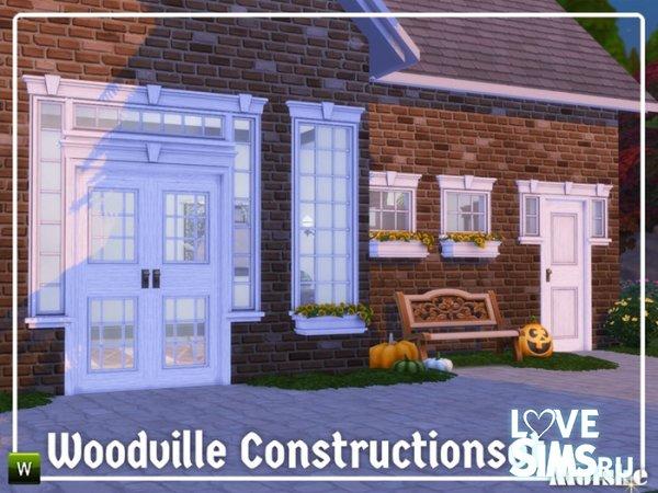 Двери и арки Woodville Constructionset Part 6