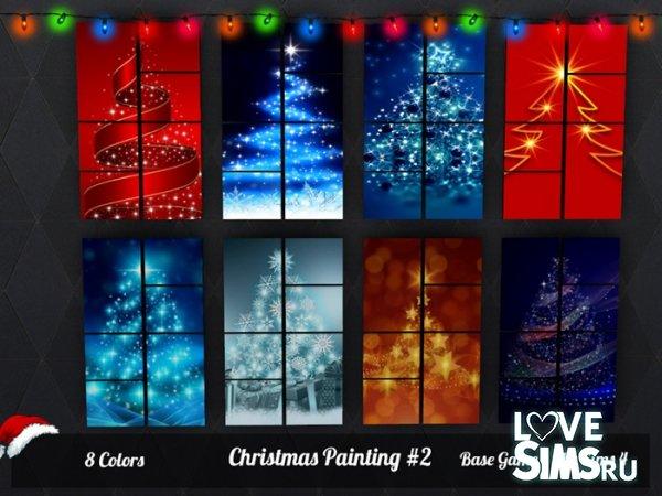 Картины Christmas Painting