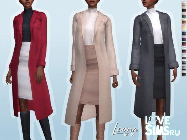 Пальто Leona Outfit от Sifix