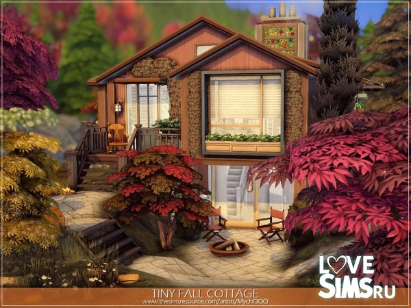 Коттедж Tiny Fall Cottage