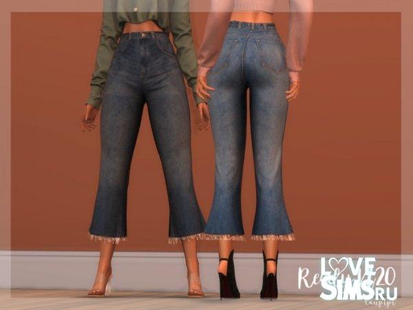 Джинсы Flare Jeans - BT368