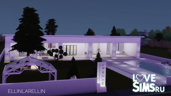 Modern house by ellinlarellin