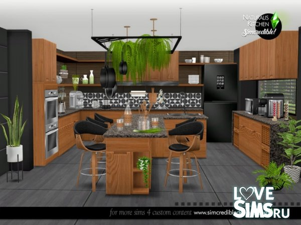 Кухня Naturalis Kitchen от SIMcredible