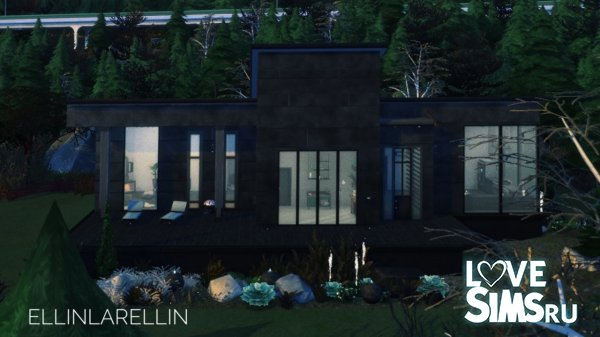 Gloomy garden house by ellinlarellin