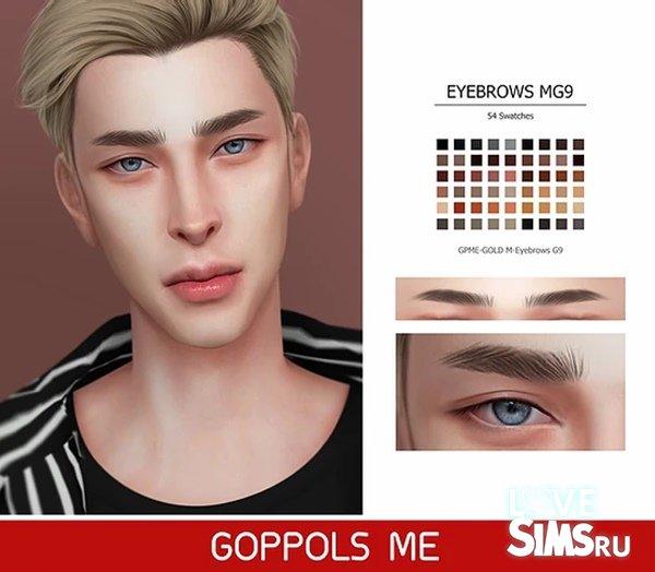 Брови Eyebrows G9 от Goppolsme