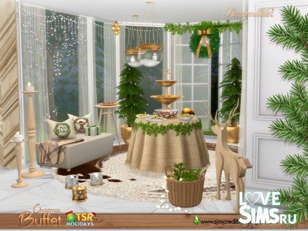 Буфет Christmas Buffet от SIMcredible