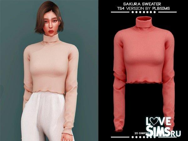 Водолазка Sakura Sweater от plbsims