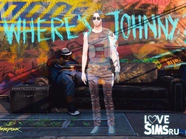 Johnny Silverhand\Keanu Reeves by owlowl22