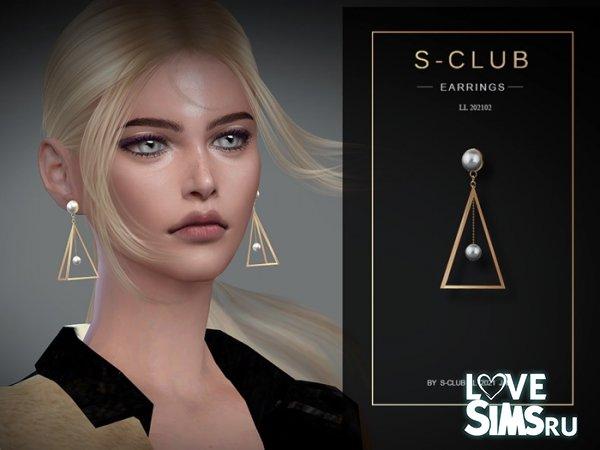 Серьги 202102 от S-Club
