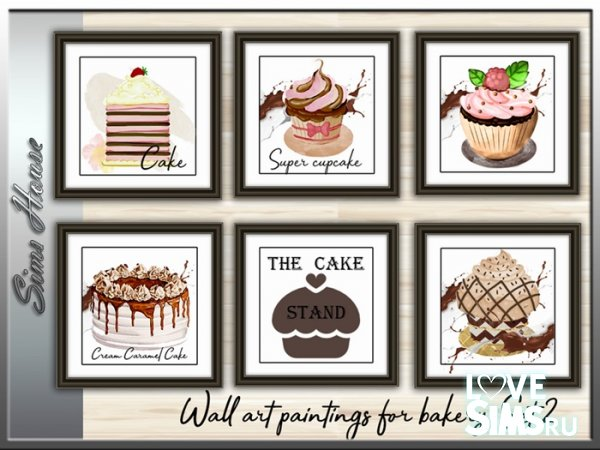 Картины Wall Art Picture For Bakery