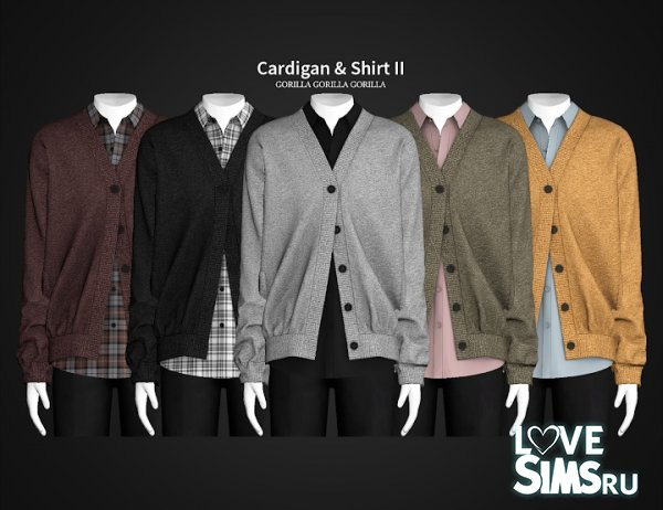 Cardigan & Shirt II от Gorillax3