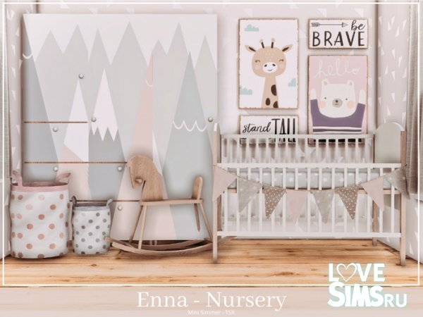 Детская Enna Nursery от Mini Simmer