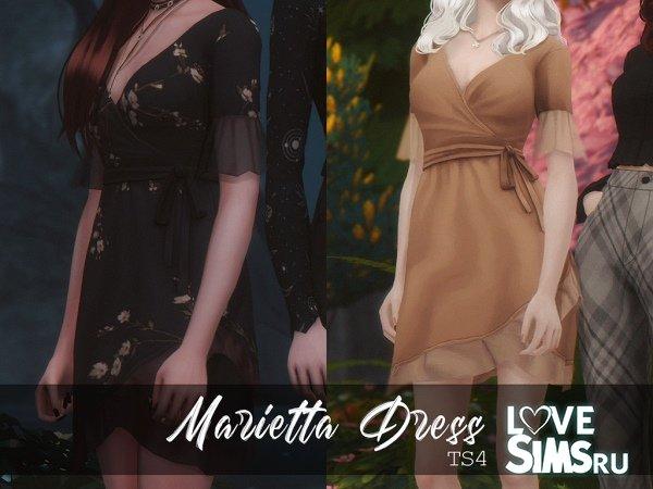 Платье Marietta от Msmarysims