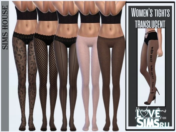 Колготки Women's tights translucent