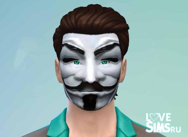 Маска анонимуса от Emil228